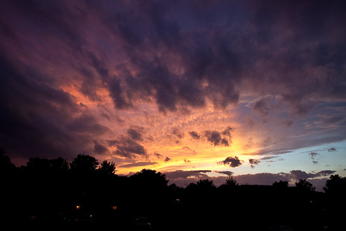 sunset sky clouds virginia harrisonburg