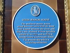 Photo of Richard Wilson blue plaque