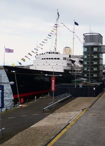 Royal Yacht Britannia, Leith