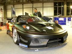 ferrari f430(0.0), race car(1.0), automobile(1.0), automotive exterior(1.0), vehicle(1.0), performance car(1.0), automotive design(1.0), ferrari f430 challenge(1.0), ferrari 360(1.0), land vehicle(1.0), luxury vehicle(1.0), supercar(1.0), sports car(1.0),