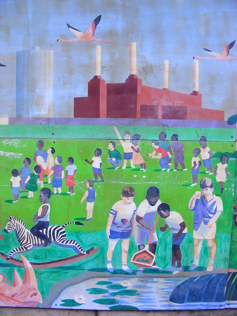 Doddington and Rollo Children Centre Mural