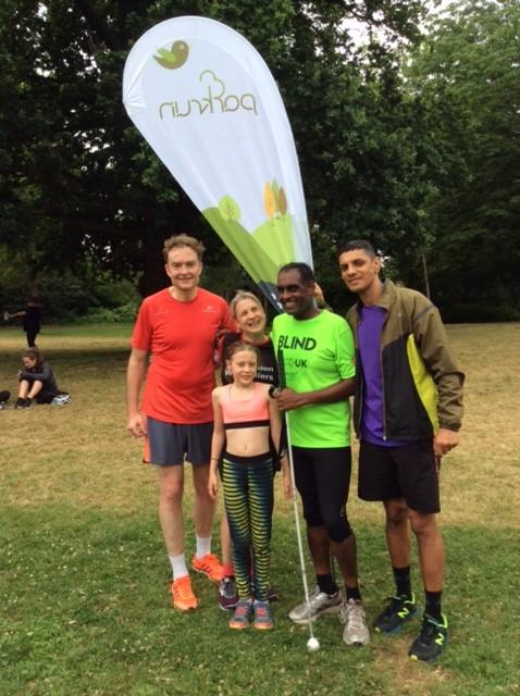 VI runners July 2107
