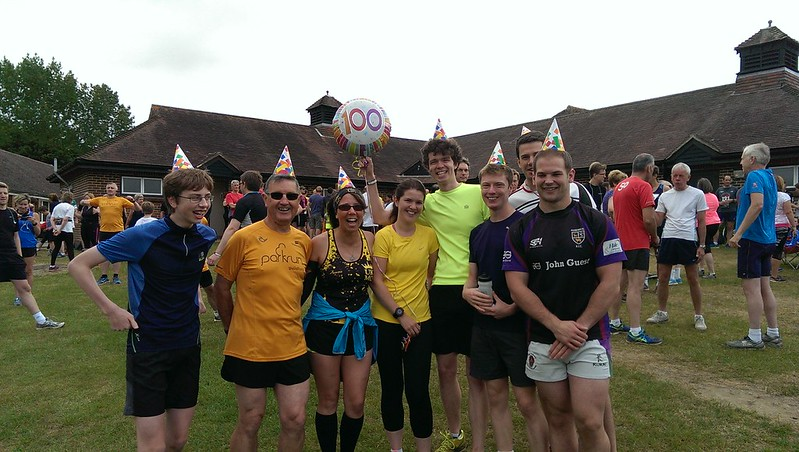 Is this Parkrun or Party in the Park? Congratulations on joining the 100 club - halfway to joining the 200 club!!! We here at Guildford Parkrun just love a good festival so thanks for bringing the atmosphere :-).