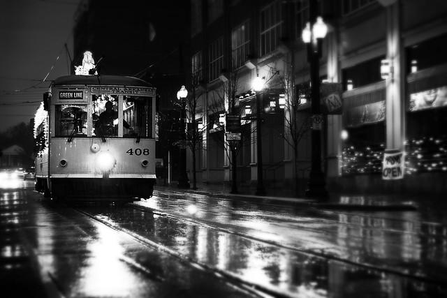 A streetcar named #408