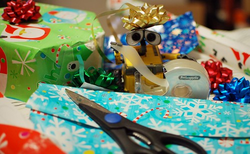 Gift Wrapping Surprise