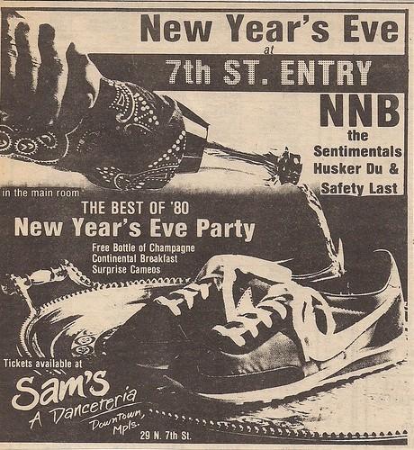 12/31/80 Husker Du @ Minneapolis, MN