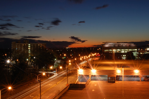 night augusta lighttrails mcg augustaga medicalcollegeofgeorgia