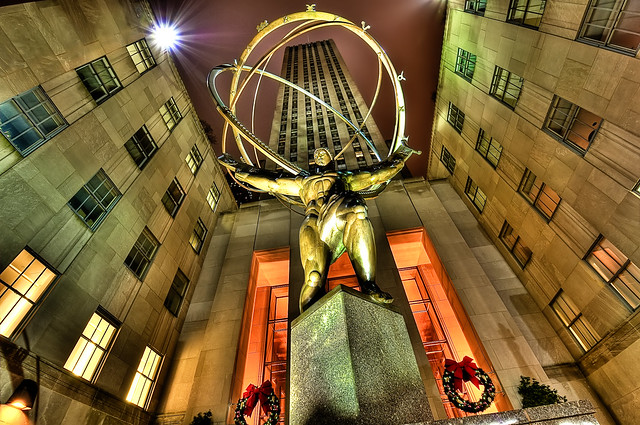 Atlas Shrugged?