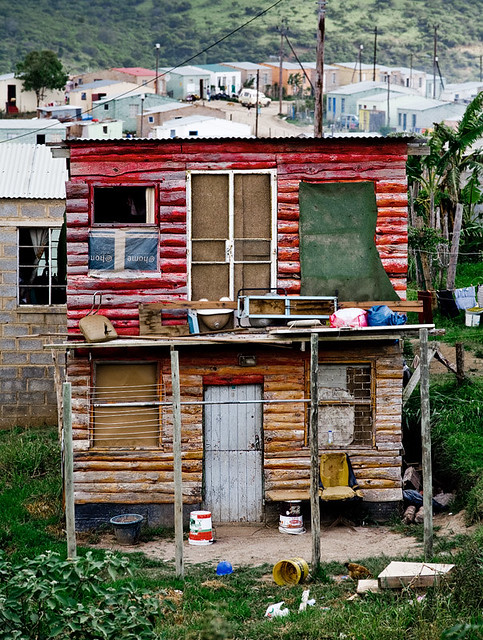 Nompumulelo south africa double story shack flickr for Shack homes
