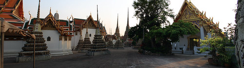 Copy of Bangkok Temple Panorama