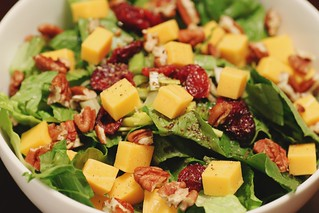 hearty autumn salad | by Stacy Spensley