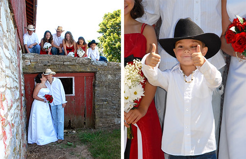 Country Western Wedding picture