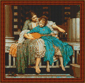 cross stitch music - Pinterest