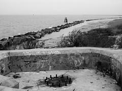 Battery Croghan, Fort San Jacinto, Galveston, Texas 0116101721BW