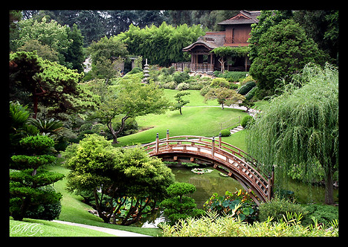 The japanese garden at the huntington flickr photo - Huntington beach botanical garden ...