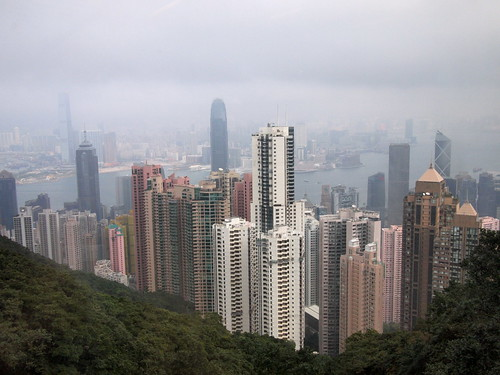 View of Hong Kong on the Peak