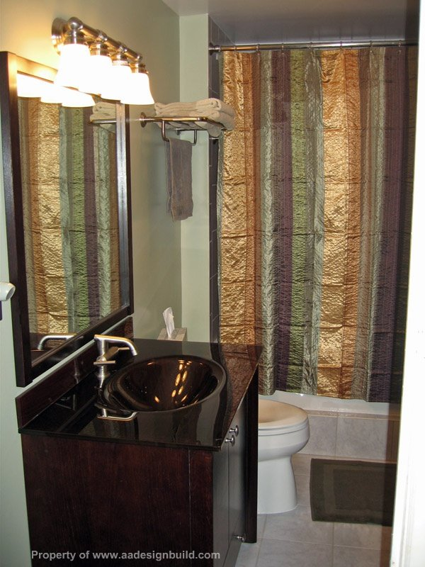 www.aadesignbuild.com, Master Bathroom in Condo Design and