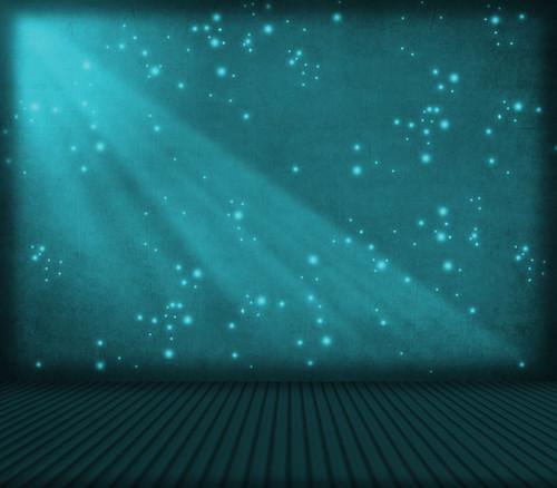 * Turquoise Fireflies Room *