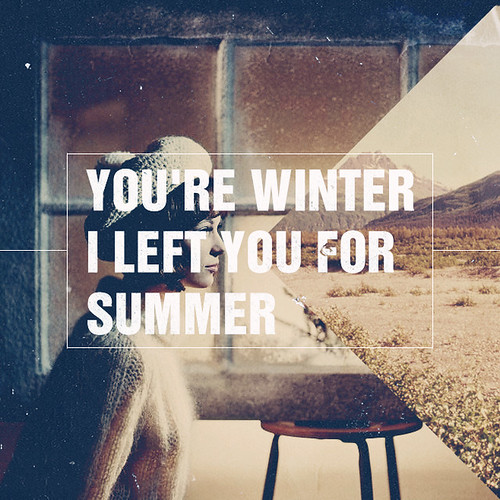 You're Winter