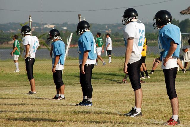 Se funda la asociaci n de f tbol americano paraguay afap - Fundas nordicas de futbol ...