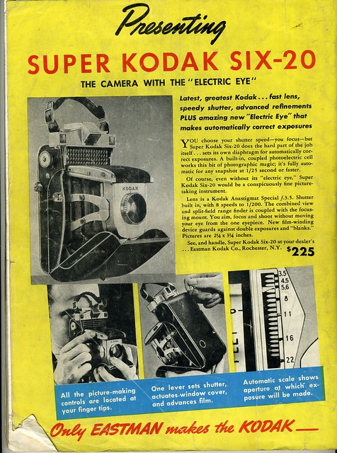 Super Kodak Six-20 1938
