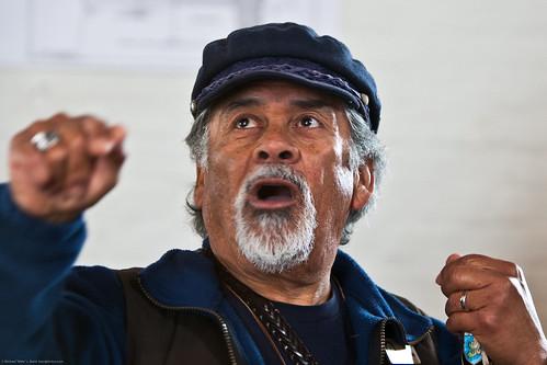 Abel Martinez Volunteer Docent Guide Piedras Blancas Lightstation, San Simeon, CA telling a story