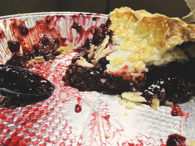 February 11, 2010: Pie is messy, so eat it up
