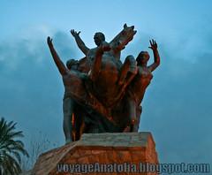 Monument at Antalya
