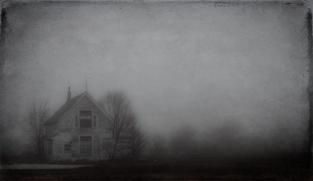 Foggy Haunted? House (74/365)