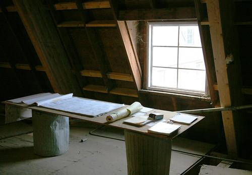 Architect's work desk