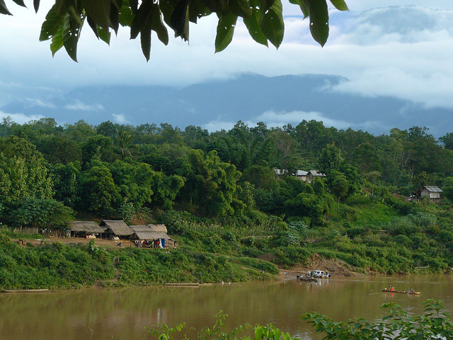 Remote and mountainous Southern Laos