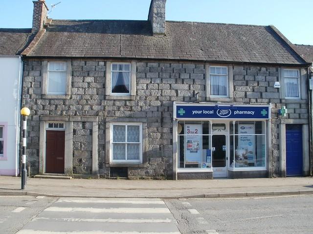 Chemist shop and doctor's house Gatehouse of Fleet, Kirkcudbrightshire 2