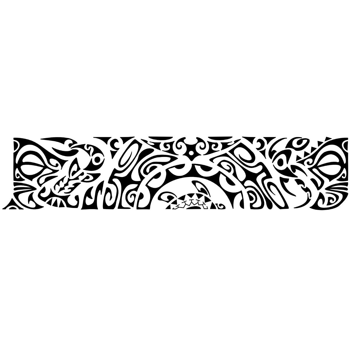 Polynesian Armband Tattoos for Men