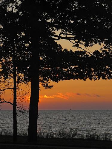 sunset michigan bayview petoskey