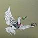 La paloma de la paz en el punto de mira