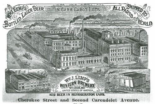 1888 Wm J Lemp's Western Brewery St. Louis
