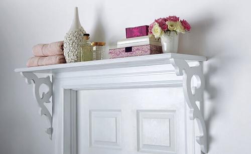 Weekend Project Over The Door Shelf Diy Poppytalk