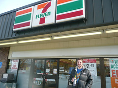 Getting a Slurpee at the 7-11