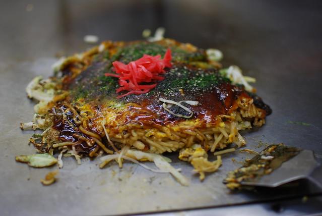 Okonomiyaki - Hiroshima style | Flickr - Photo Sharing!
