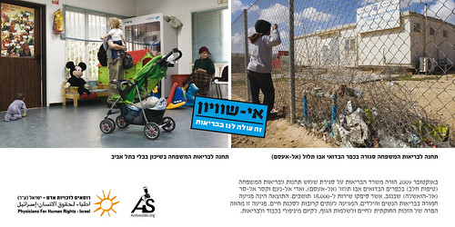 World Health Day - 7 April 2010 - Inequality Costs us our Health! - PHR-Israel. Health Care. Medium