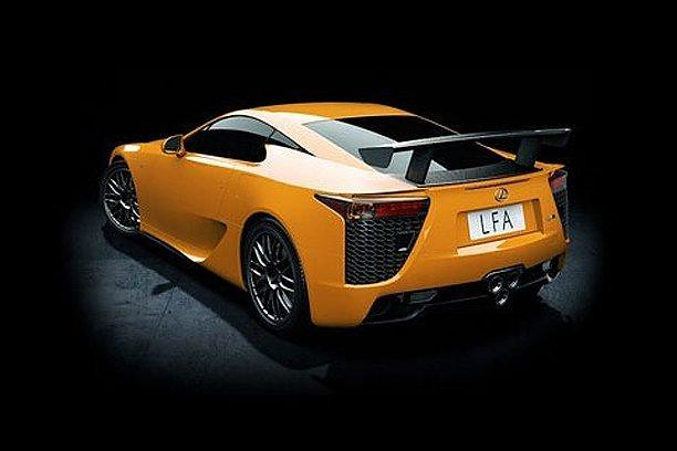 NEW METAL , Hardcore Racing Lexus LFA 002