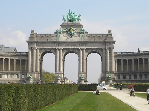 Bruxelles, Arche du Parc du centenaire