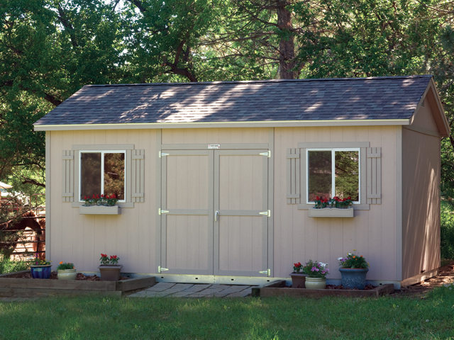 Premier pro tall ranch 10 x 16 flickr photo sharing for Garden shed builders warehouse