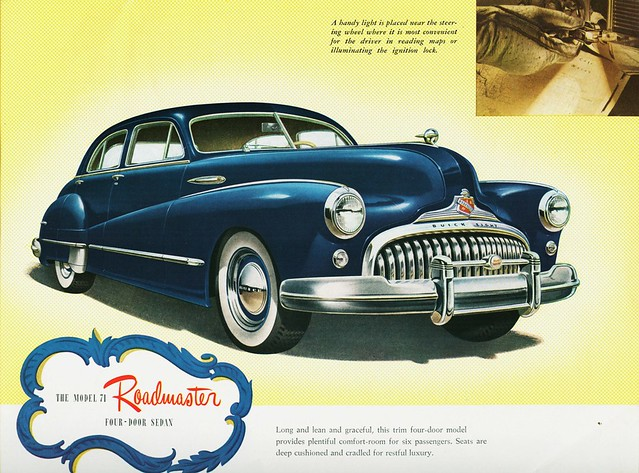 1947 Buick Roadmaster Model 71 Four-Door Sedan