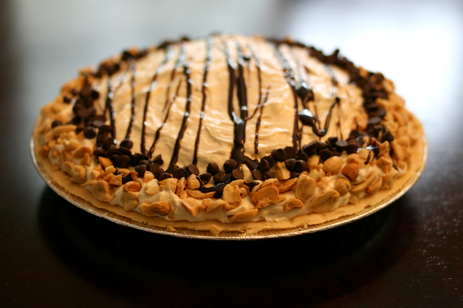 Debbi's Mile-High Peanut Butter-Brownie Pie | Flickr - Photo Sharing!
