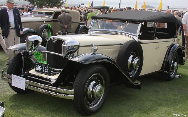 1930 Ruxton Model C Rauch & Lang Phaeton - fvl