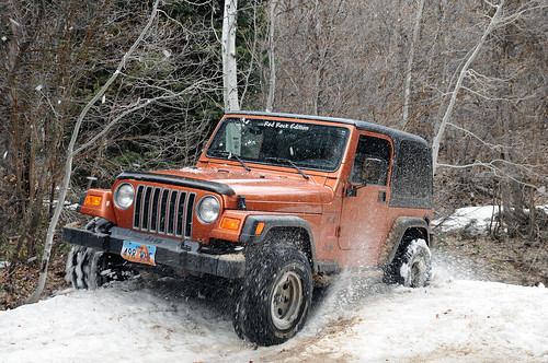Snow Jeepin'