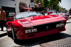 race car, automobile, ferrari 288 gto, vehicle, performance car, automotive design, ferrari 308 gtb/gts, land vehicle, luxury vehicle, supercar, sports car,