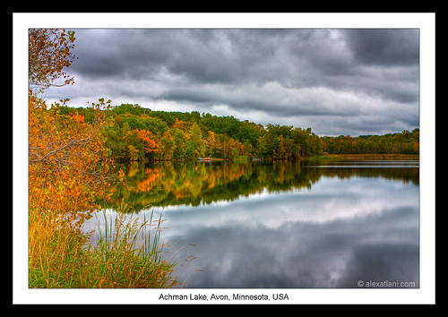 achmanlake autumn avon fall hdr indiansummer landscape minnesota newyorktosanfrancisco reflection roadtrip travel trees usa water