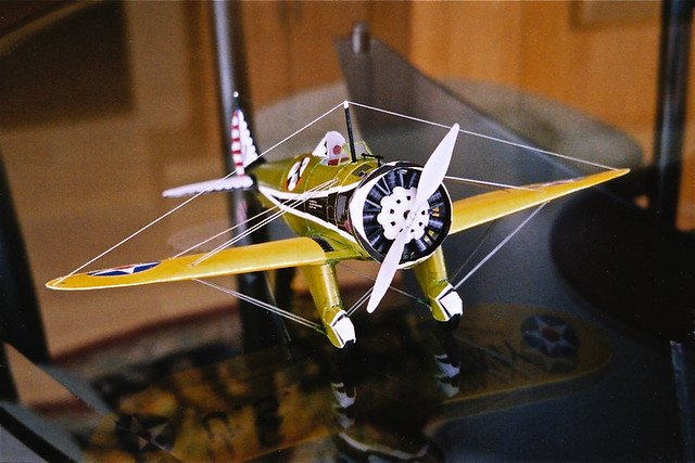 Boeing P-26 Peashooter, III   This is a paper (card) model o